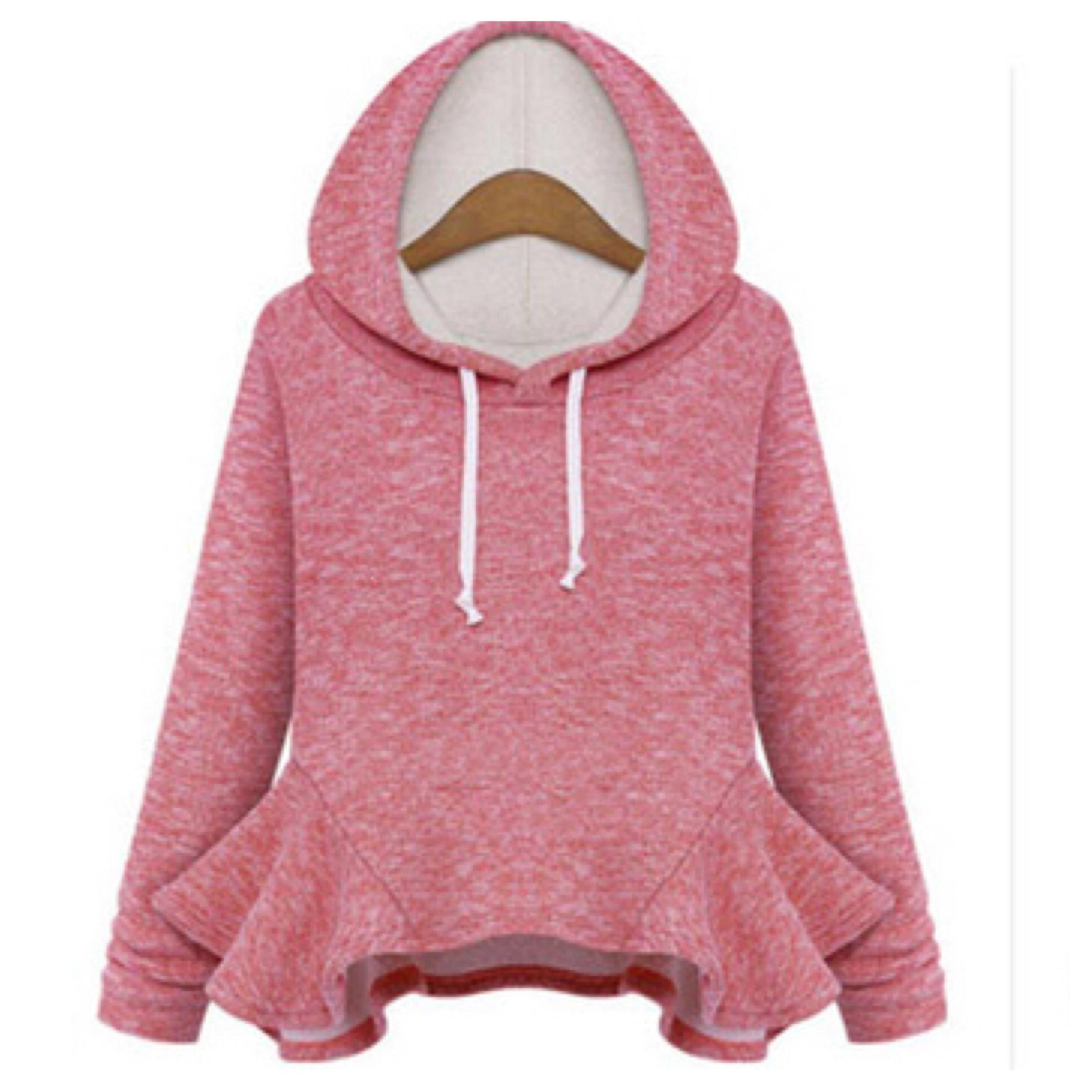 Trendy peplum hoodie from DoubleLW on Storenvy