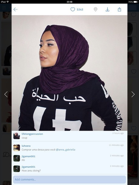sweater black sweater arabic writing