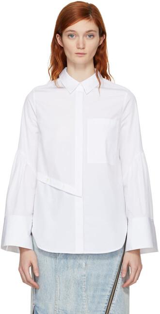 shirt button down shirt white top