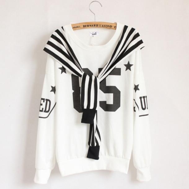 t-shirt black and white swearshit jfashion
