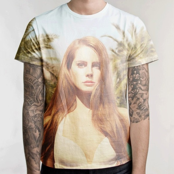 t-shirt lana del rey tropical shirt born to die paradise edition lana del rey shirt born to die menswear