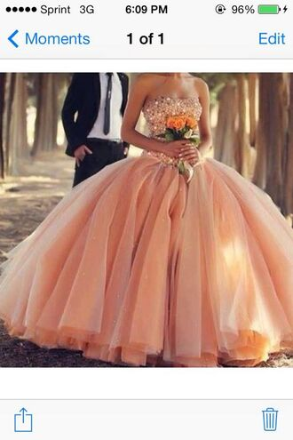 dress sparkly dress prom dress quincenera dress