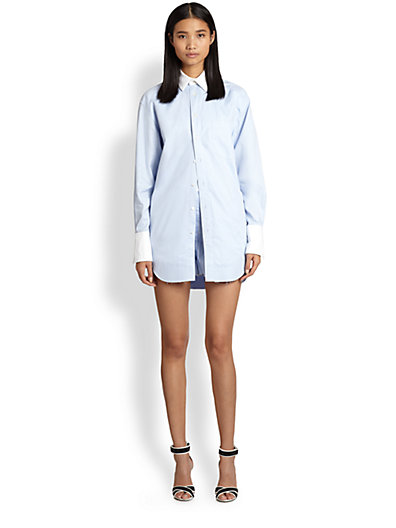 Alexander Wang - Shirt-and-Shorts Playsuit - Saks.com