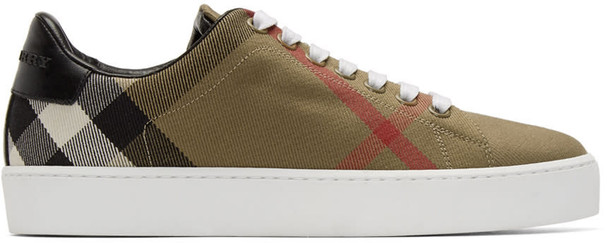 Burberry sneakers brown shoes