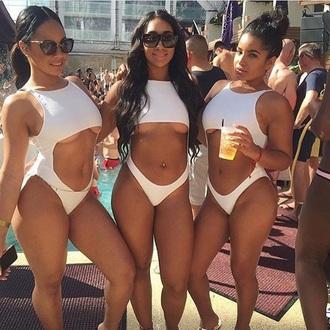 swimwear draya off of basketball wives mint white