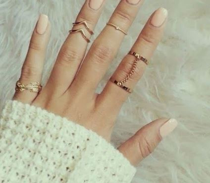 Empress midi rings