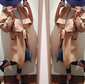 coat winter jacket jacket winter coat brown fashion girls clothes winter clothes long coat long jacket brown jacket