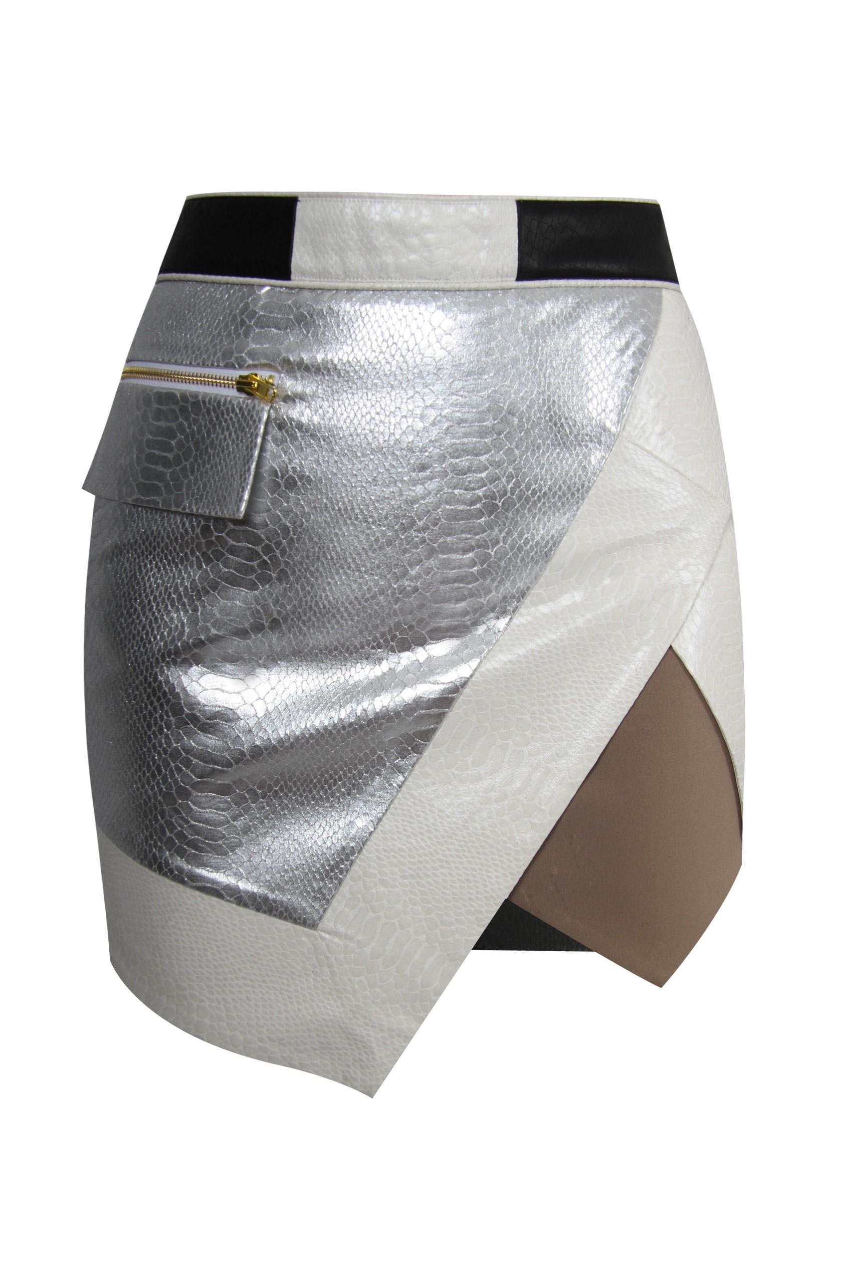 ORIGAMI Wrap Skirt by Self Portrait - Styligion.com
