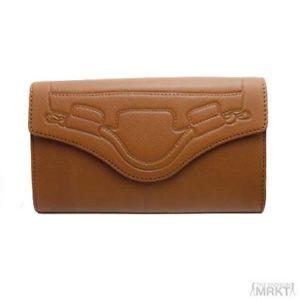 Foley Corinna Leather Wallet ON A String Cross Body Wallet Clutch | eBay