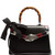 Lilith small bamboo-handle leather bag
