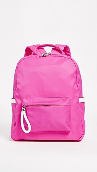 backpack pink bag