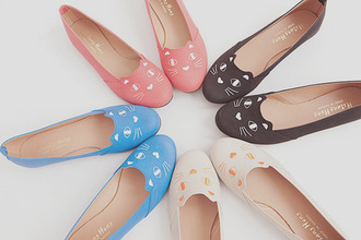 flats shoes cat shoes