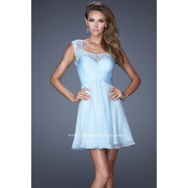 dress, prom dress, la femme 21986, powder blue same as this colour r ...