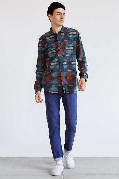 menswear flannel shirt t-shirt shirt denim hipster menswear mens jeans mens shirt aztec