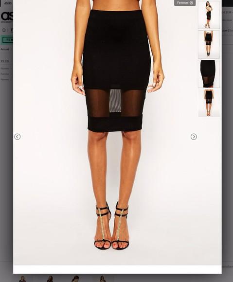 skirt black skirt long skirt