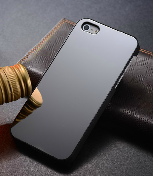 Gentleman mirror plane protective metal case for iPhone5 -black [2018] - $28.00 : Stylish iPhone Case, Show Off Your iPhone With Our Fashionable Cases