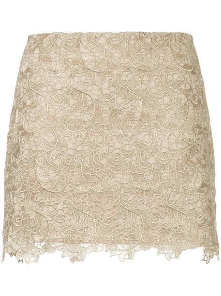 Manning Cartell skirt women grey metallic