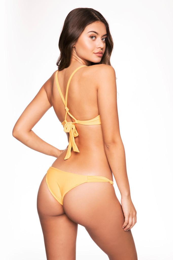 Frankies Bikinis Malibu Bottom - Mango