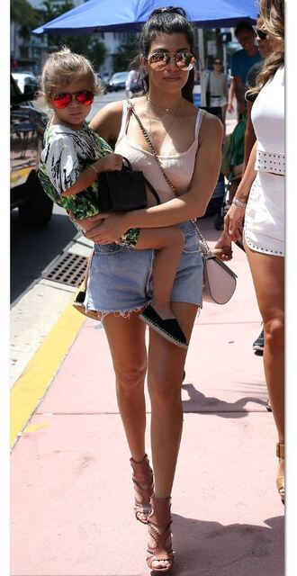shorts top tank top kourtney kardashian sandals sandal heels summer outfits kardashians shoes sunglasses