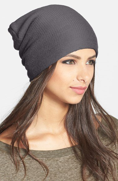 Echo 'milk made' slouchy hat