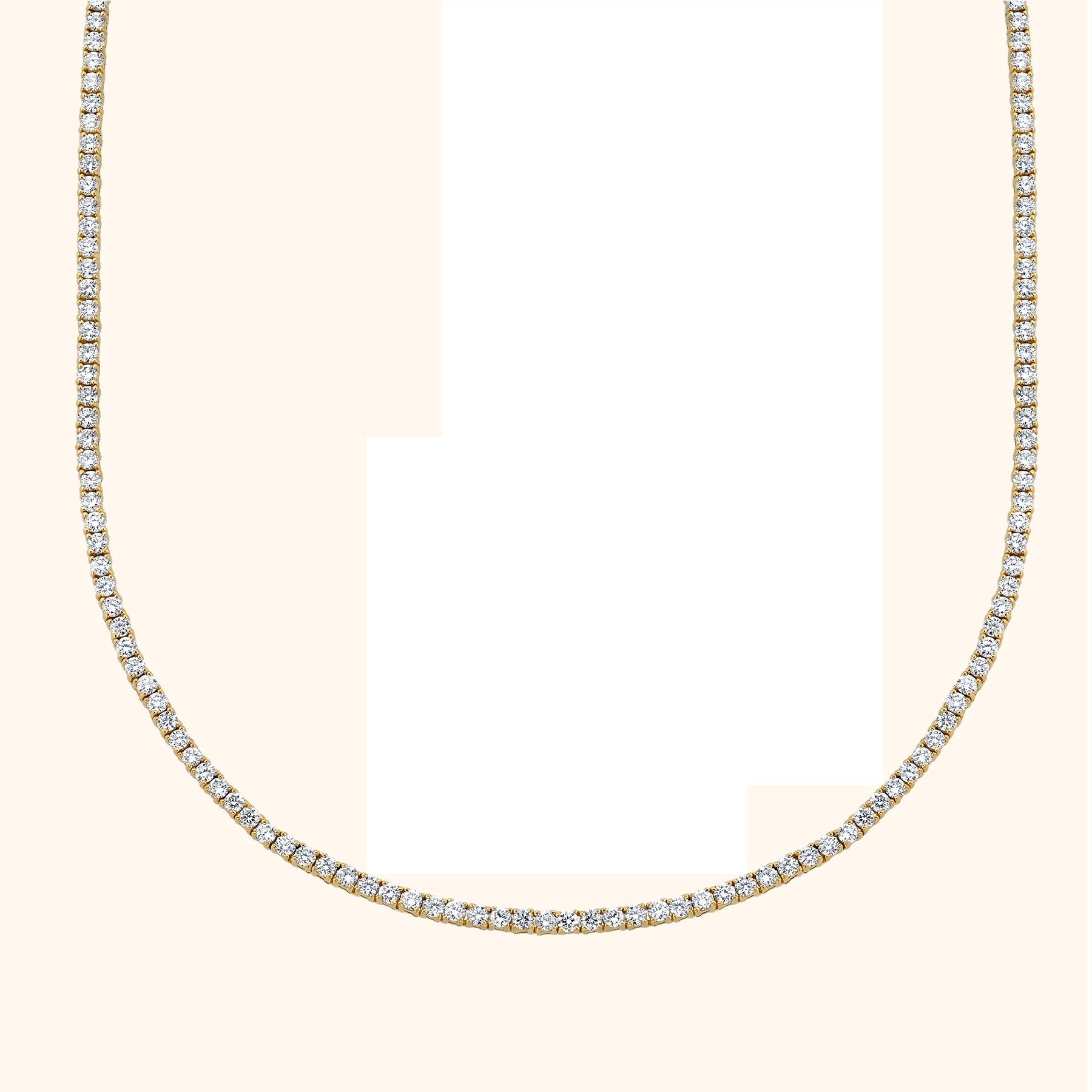 PERFECT DIAMOND COLLAR TENNIS NECKLACE