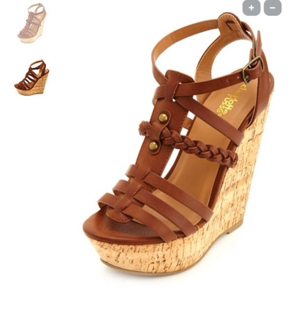 shoes brown wedges spring outfits