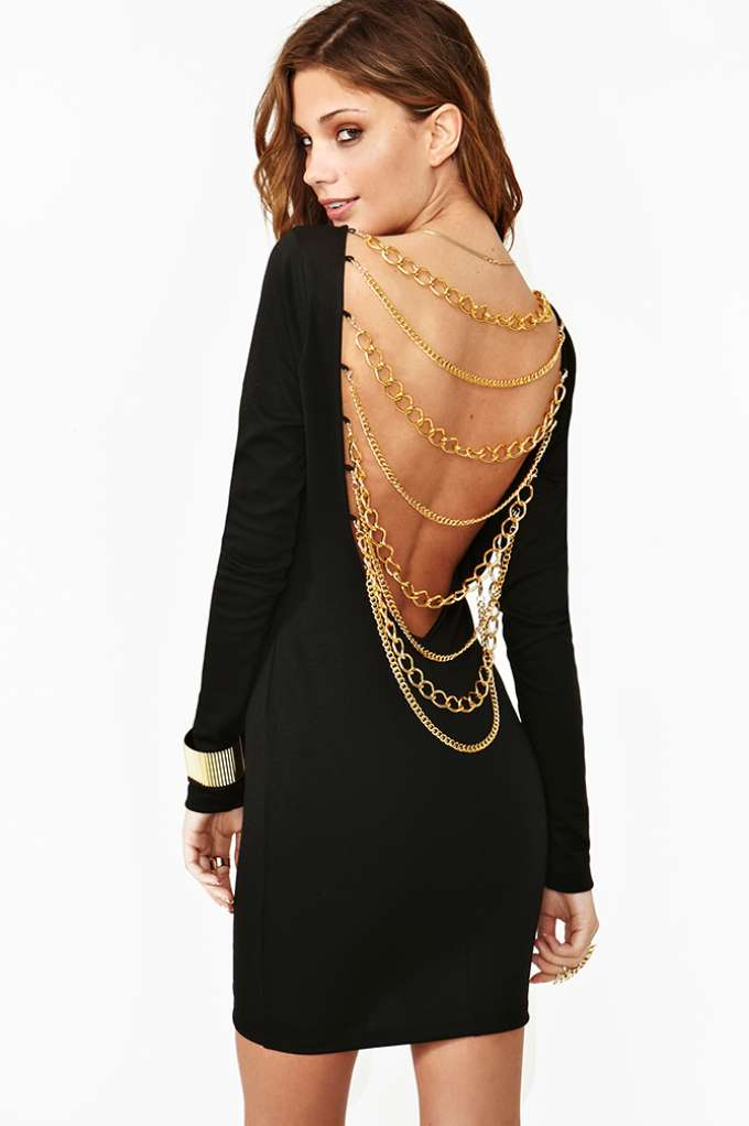 Nasty Gal Off The Chain Dress at Nasty Gal