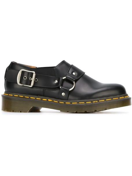Comme des Garçons Comme des Garçons women shoes leather black