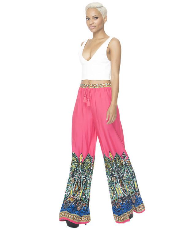 palazzo pants pink pants flowy pants