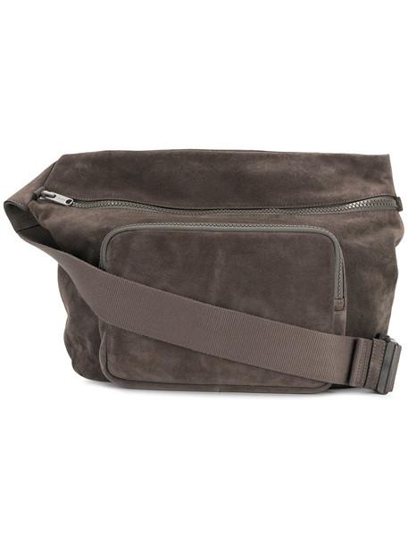 yeezy cross women bag suede grey