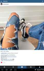 jeans,madison beer