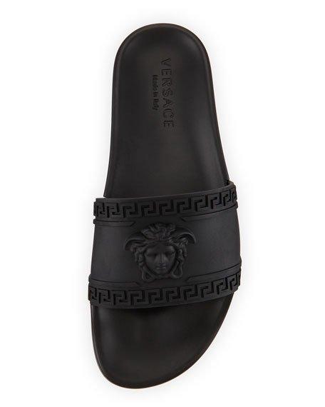 7a3ef5e2b456 Versace Medusa-Head Slide Sandal