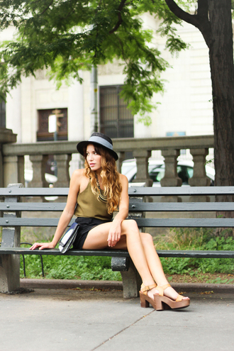 the marcy stop blogger tank top underwear jewels bag hat shoes