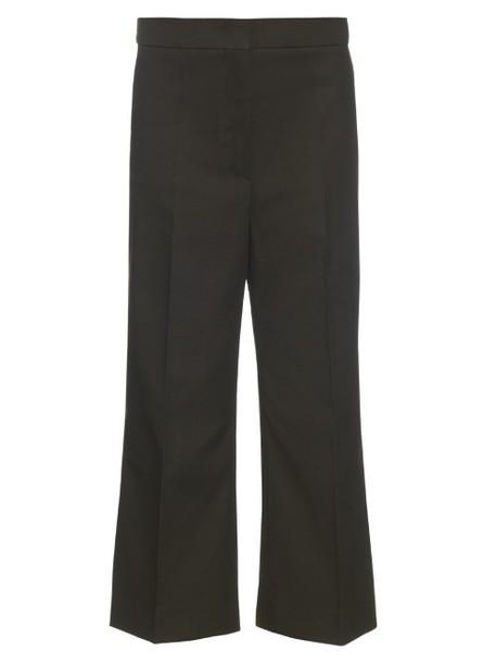 SPORTMAX Garda trousers in green