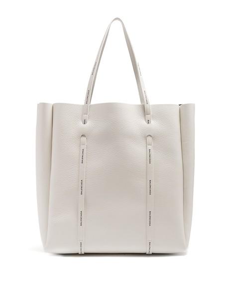 Balenciaga white black bag