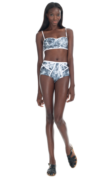 Manipulated Floral Retro Swimsuit by Manning Cartell - Moda Operandi