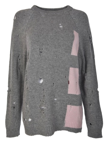 jumper ripped sweater