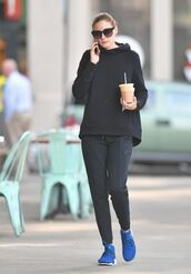 sweater,hoodie,sneakers,pants,sweatshirt,sweatpants,sportswear,blogger,olivia palermo,streetstyle,fall outfits