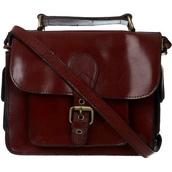 bag,brown,leather,vintage,brown bag