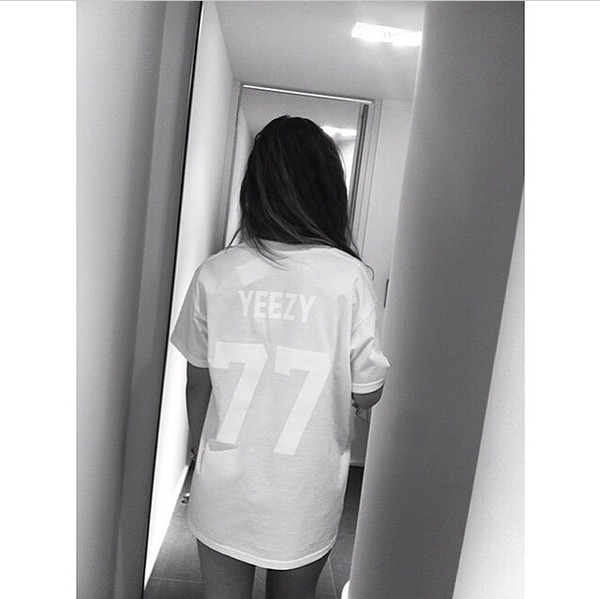 t-shirt yeezy season yeezy jersey t-shirt dress white tshirt dress short sleeve