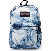 bag,jansport,acid wash,blue,backpack,dress,@bag