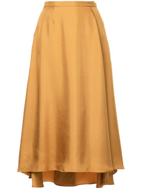 Cityshop skirt high women yellow orange