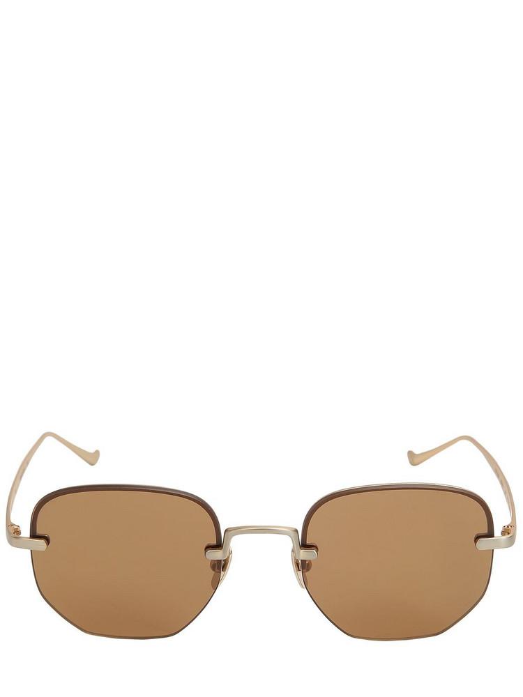 ITALIA INDEPENDENT Roy Titanium Sunglasses in gold