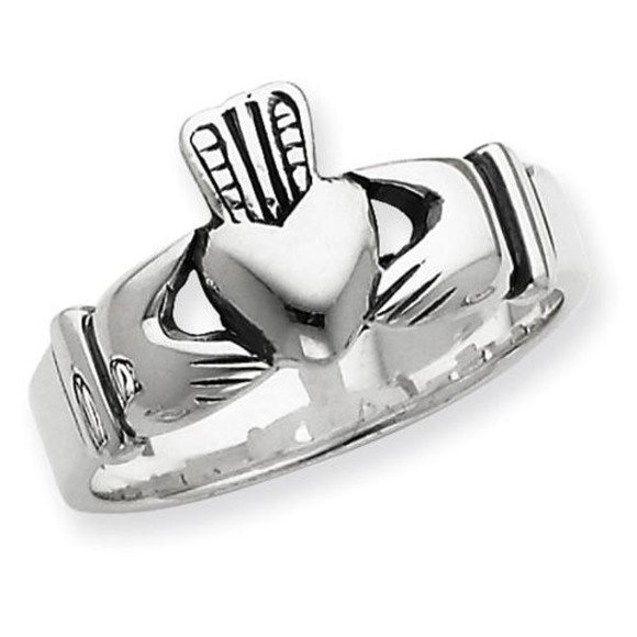 jewels ring heart ring sterling silver ring claddagh ring fashion ring