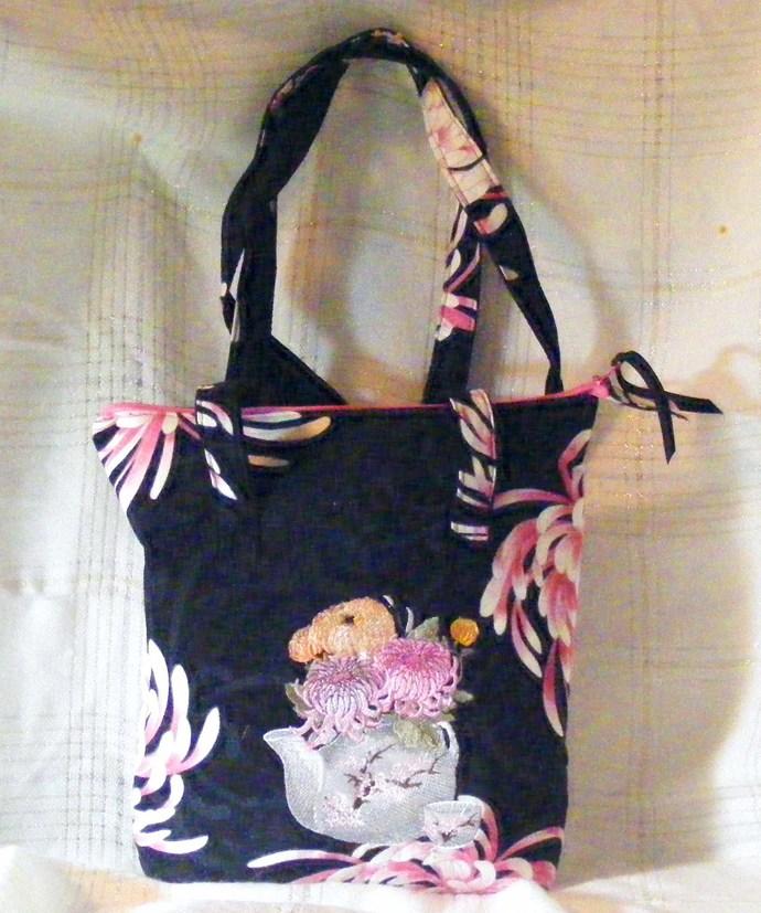 Beautiful Asian Themed Small Handbag