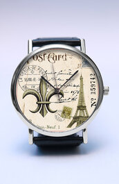 jewels,watch,handmade,style,fashion,vintage,etsy,freeforme,summer,spring,new,trendy,hot,love,paris,post card,post,postal,eiffel,tower,lovutimepieces,gift ideas,independence day,july 4th