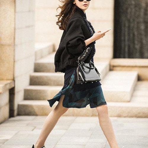 Fashion shopping mall — [gzxy0204]fashion beads zipper woolen coat