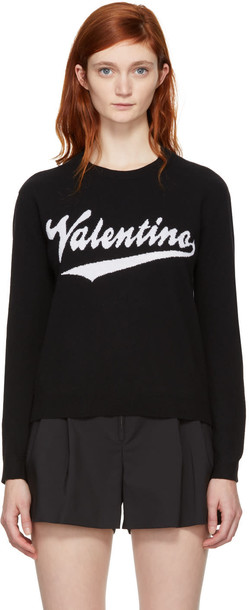 Valentino pullover black sweater