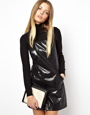 ASOS | ASOS Fur Grab Clutch Bag at ASOS