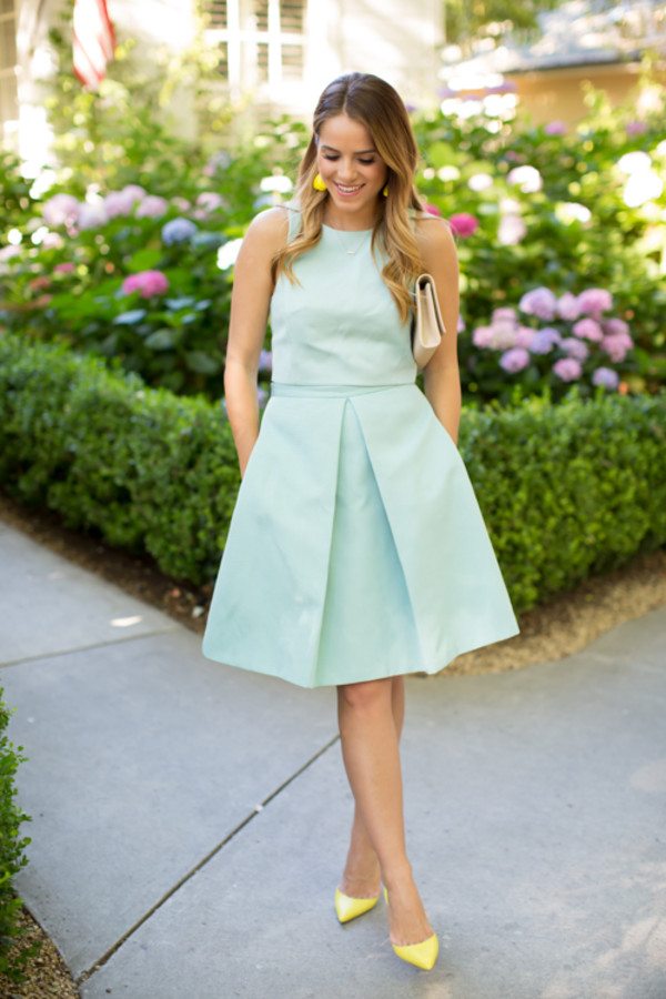 gal meets glam top skirt jewels shoes bag